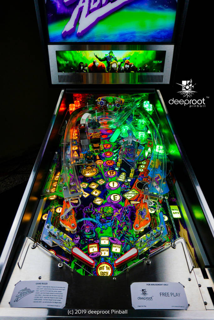 The Retro Atomic Zombie Adventureland playfield