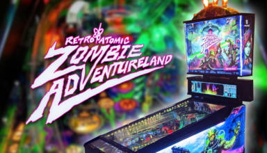 The latest viewing of Deeproot Pinball's Retro Atomic Zombie Adventureland game