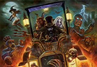 Rob Zombie's Spookshow International from Spooky Pinball