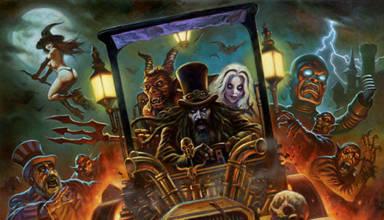 Rob Zombie's Spookshow International from Spooky Pinball