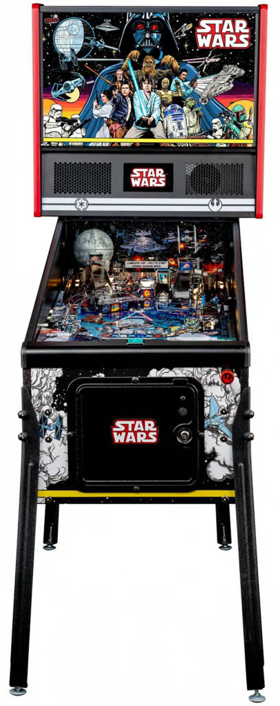 Stern Pinball's Star Wars Comic Art Pin