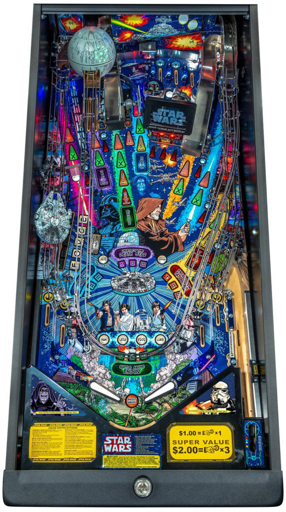 The Premium playfield