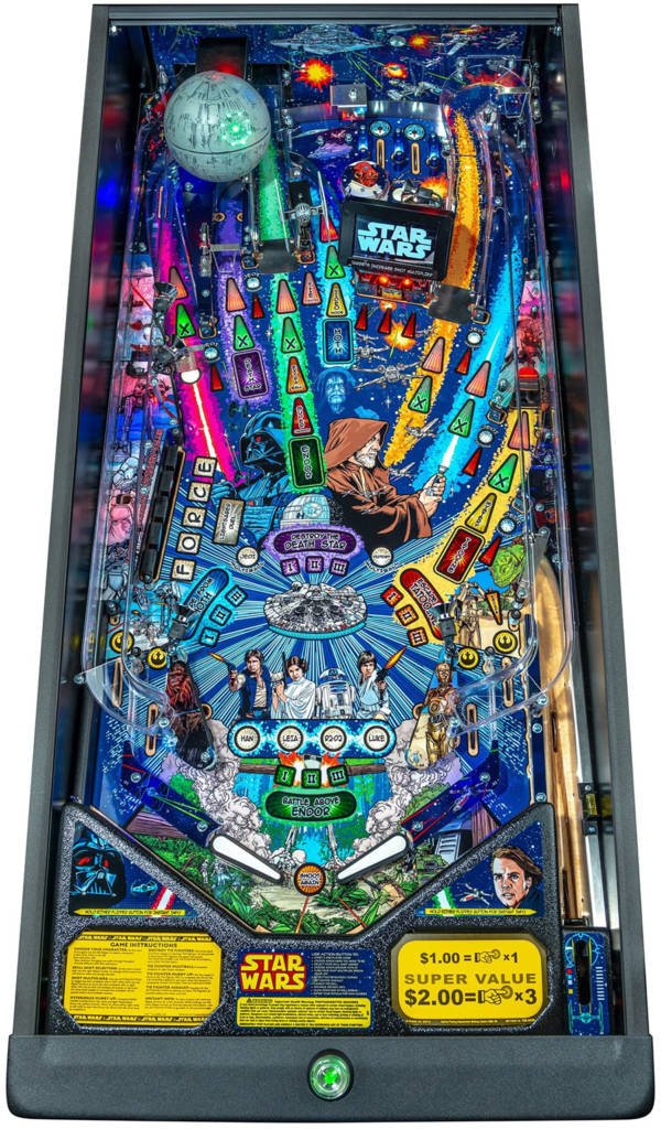 The Pro playfield