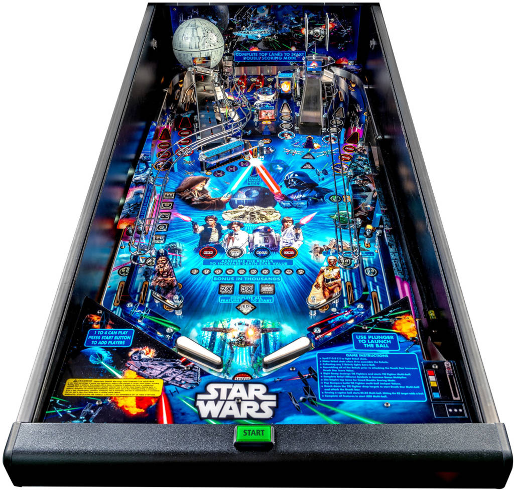The playfield from Stern's Star Wars Pin