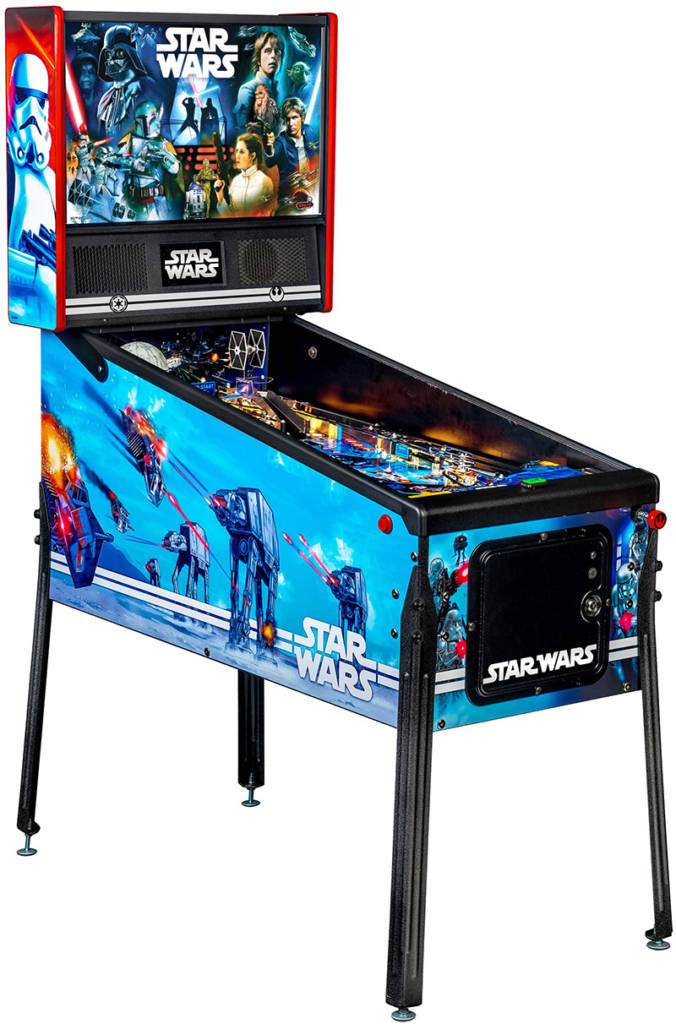 Stern Pinball's new Star Wars Pin home game