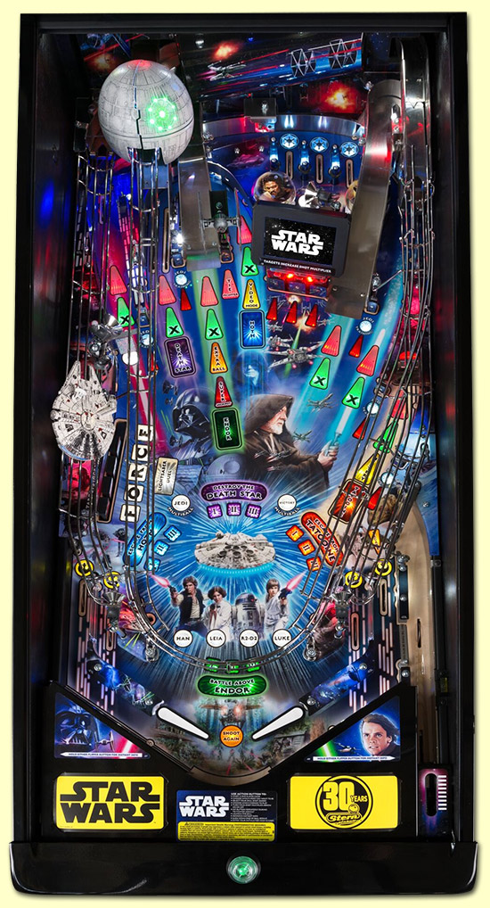 The Premium/Limited Edition playfield