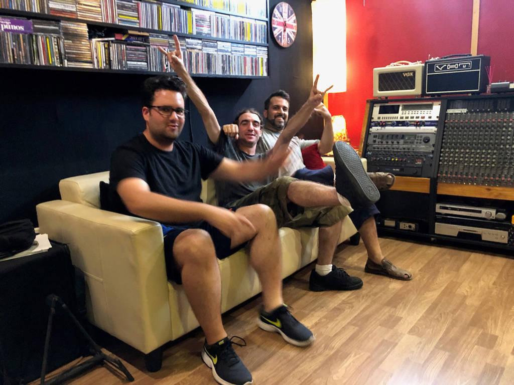 Disaster Surrealism in the recording studio