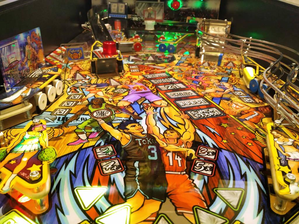 The playfield artwork