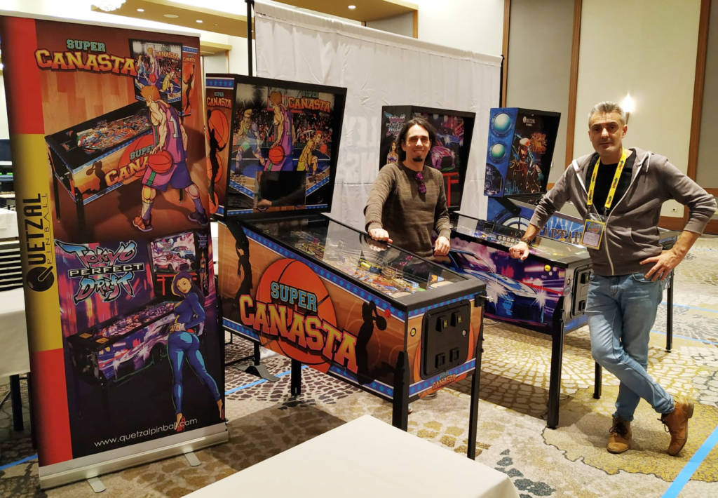 Quetzal Pinball's Antonio and Gustavo with Super Canasta, Tokyo Perfect Drift and Captain Nemo