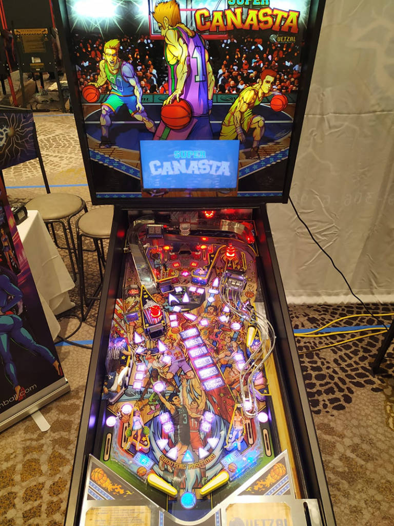 Super Canasta from Quetzal Pinball
