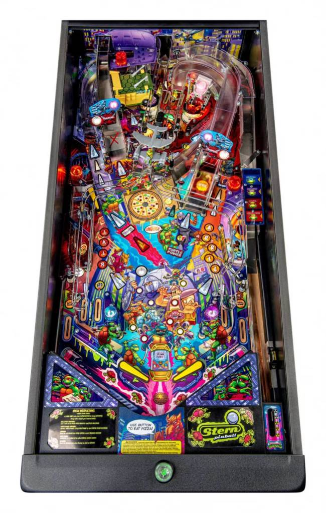 The Premium model's playfield