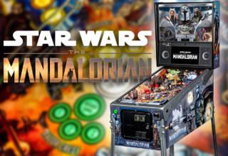 Stern Pinball's The Mandalorian pinball