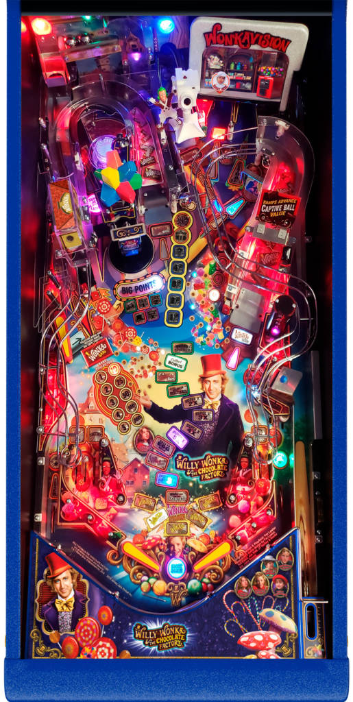 The playfield from the Limited Edition model