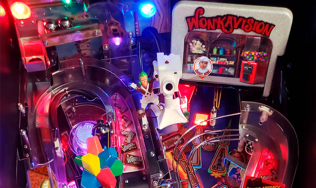 The top part of the playfield