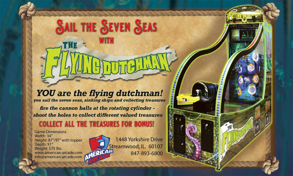 The Flying Dutchman from American Arcade
