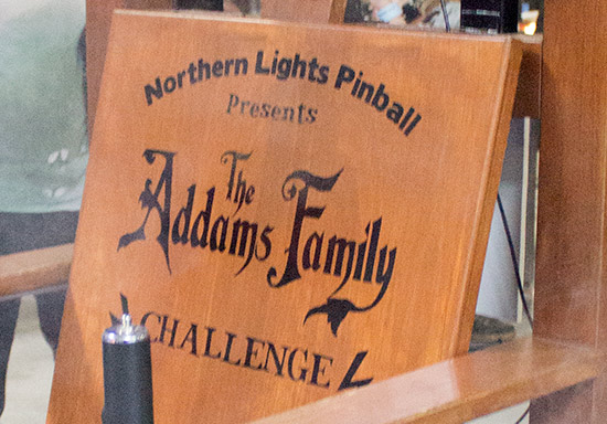 The Addams Family Challenge artwork