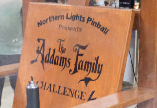 The Addams Family Challenge chair