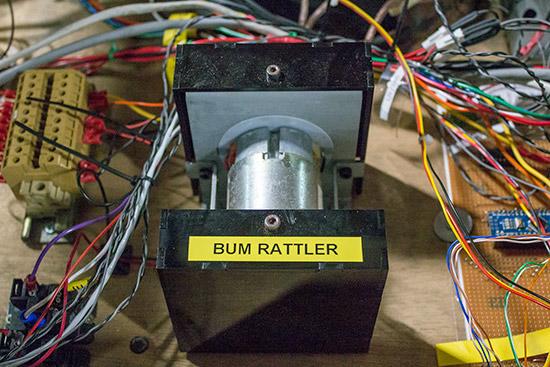 The main shaker motor