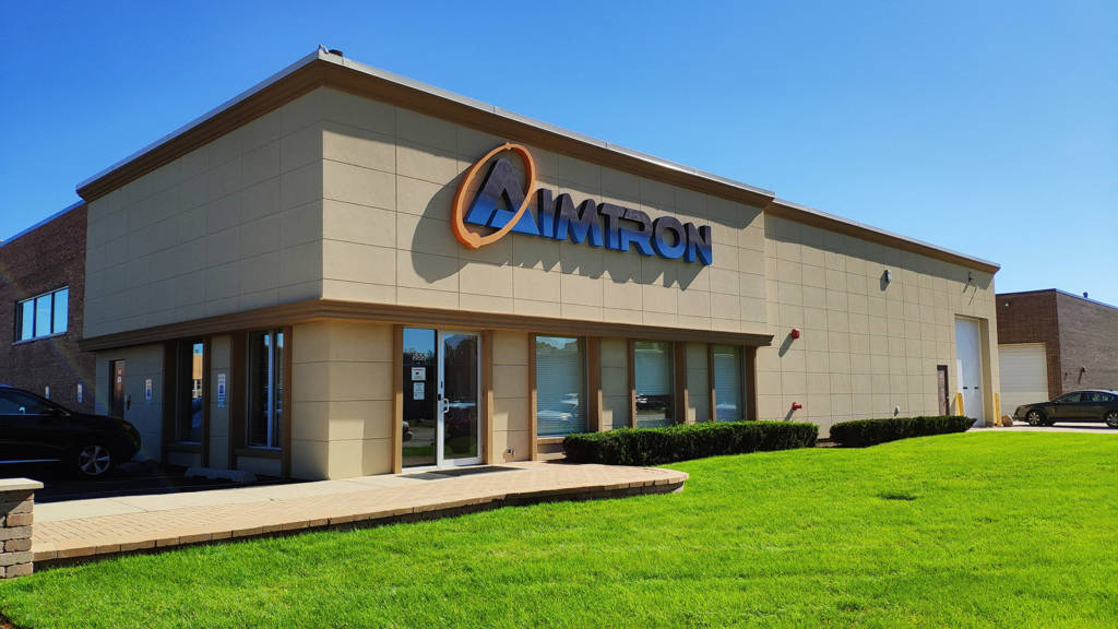 The Aimtron facility in Palatine