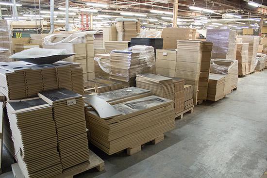 Stacks and stacks of wood