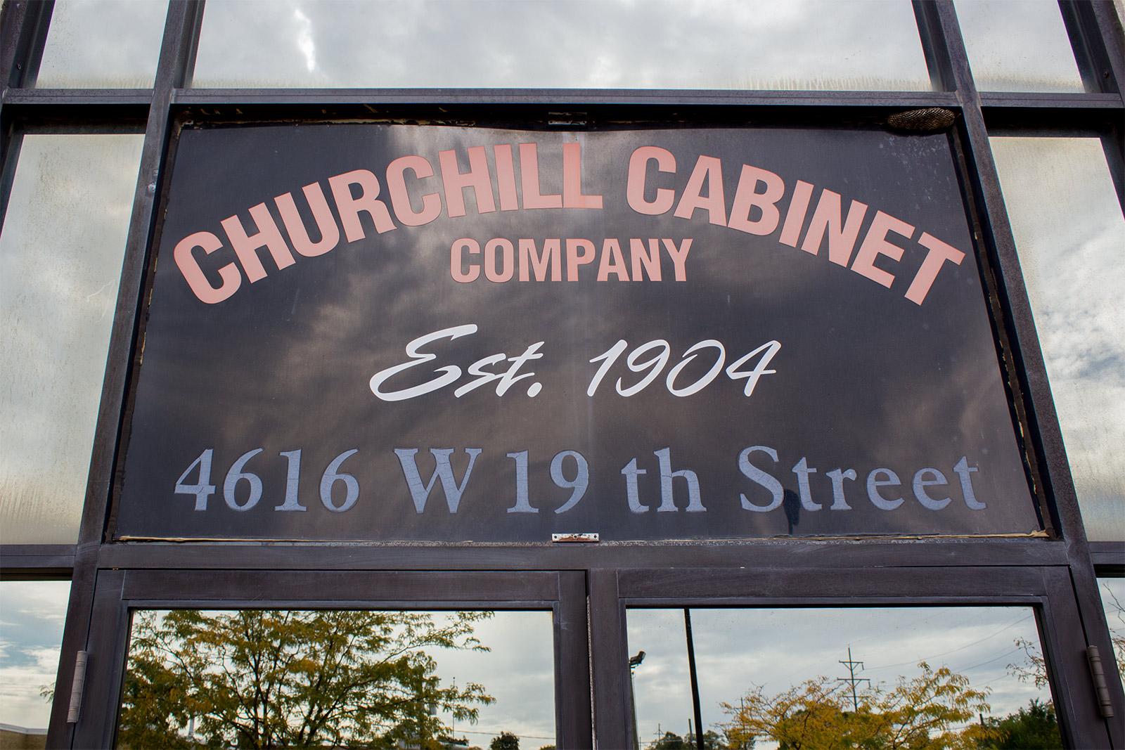 Churchill Cabinet Company Tour