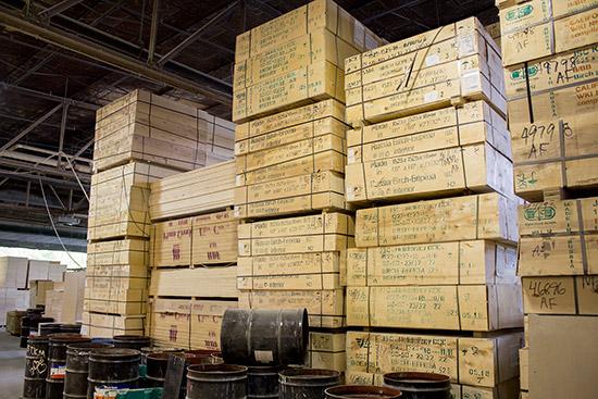 Stocks of Russian Birch