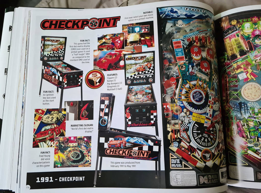 The page for the game Checkpoint