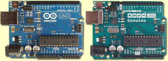 The Arduino and the Genuino
