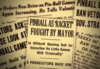 Pinball, gambling and manufacturers