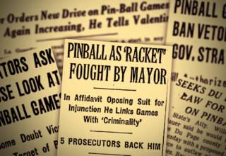 Pinball, gambling and manufacturers