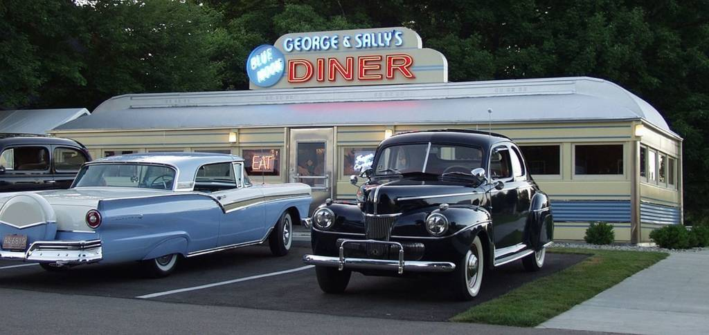 George & Sally's Diner at the Gilmore Automobile Museum