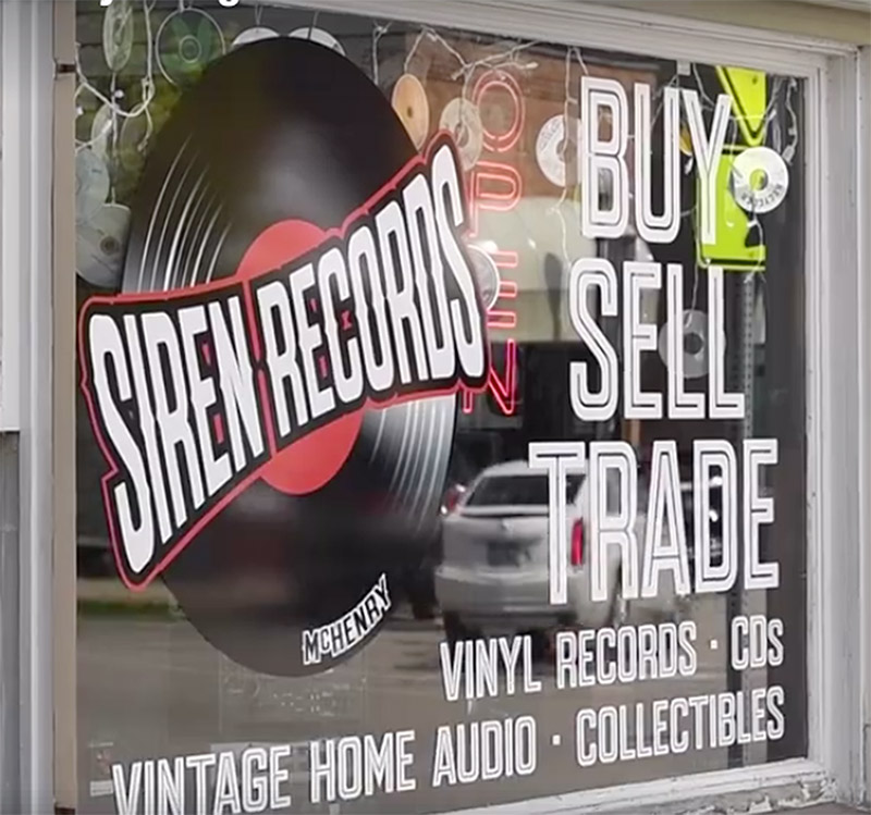 Siren Records in McHenry, Illinois