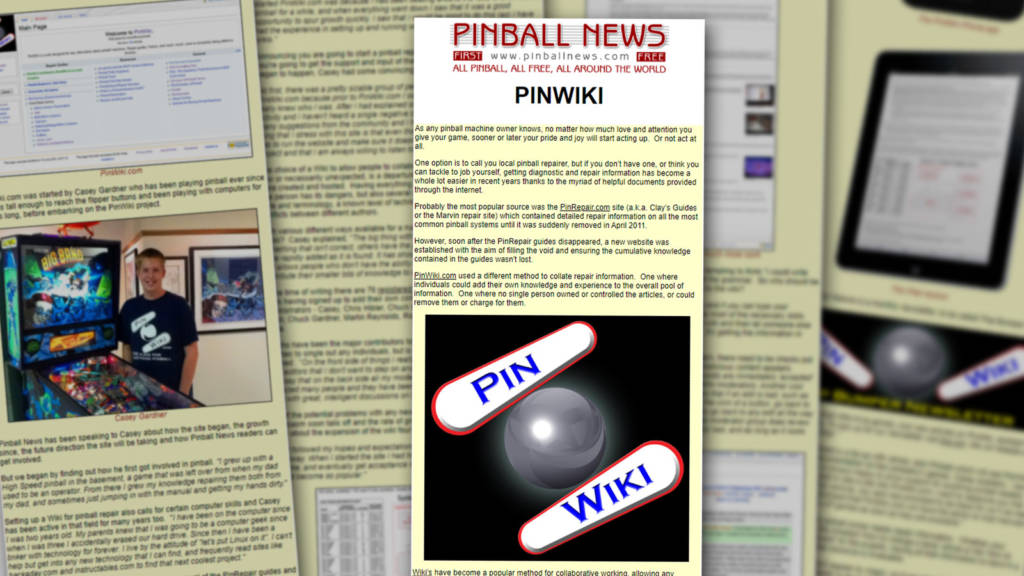 The Pinball News article from ten years ago
