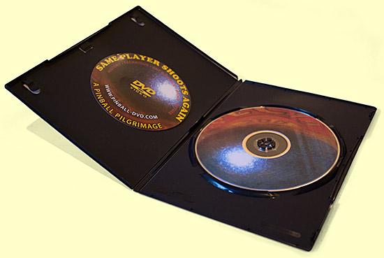 Inside the DVD case