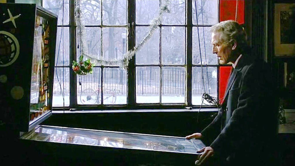 Paul Newman plays pinball in The Verdict