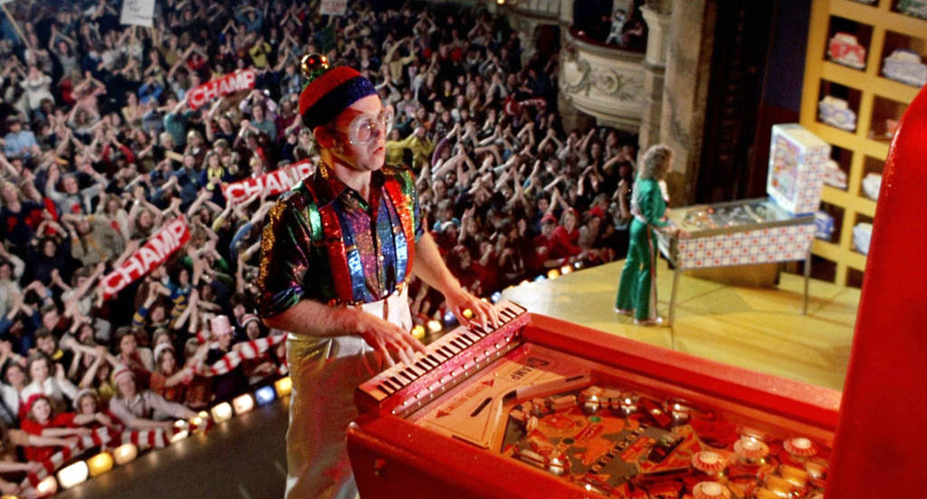 Elton John and Roger Daltry battle to be the true Pinball Wizard
