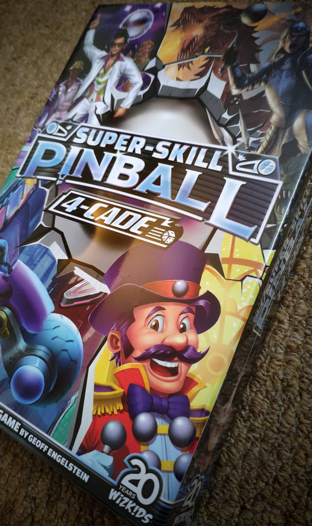 The Super-Skill Pinball 4-Cade box