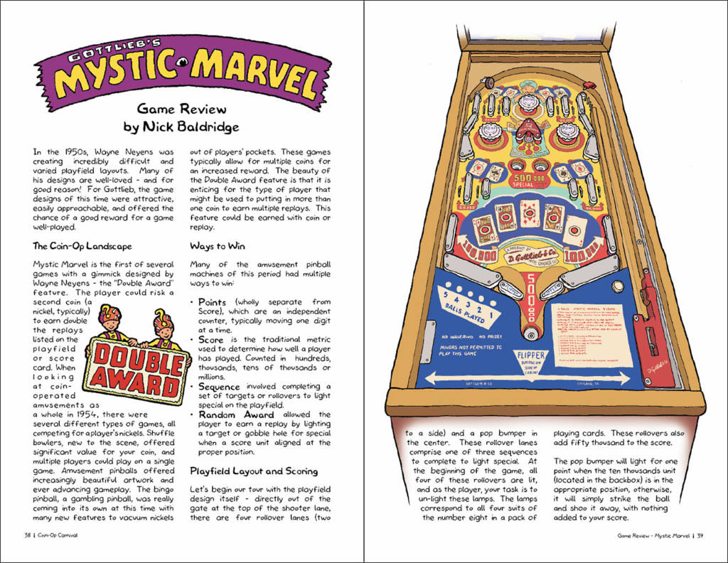 The first EM game review is of Mystic Marvel