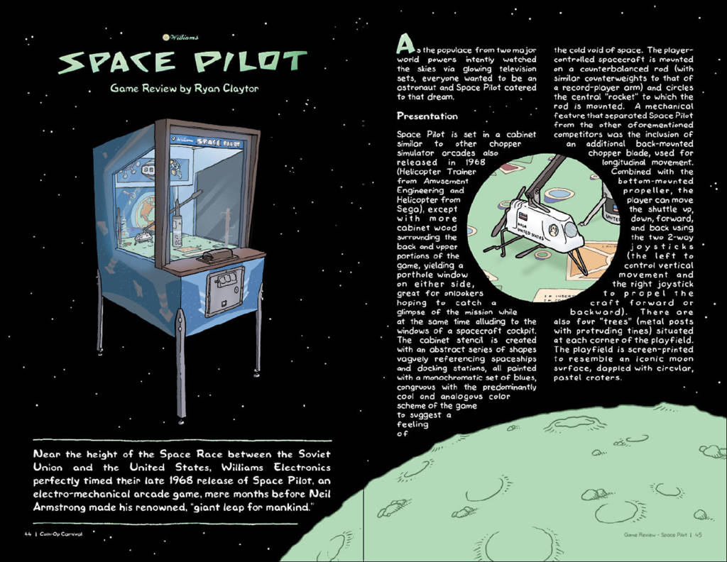 The second EM game is Space Pilot