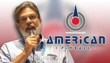 Dennis Nordman has joined American Pinball
