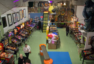 The Dutch Pinball Museum in Rotterdam