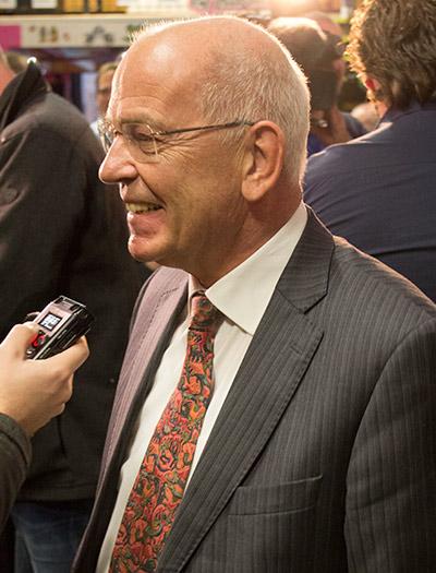 Gerrit Zalm at the Museum