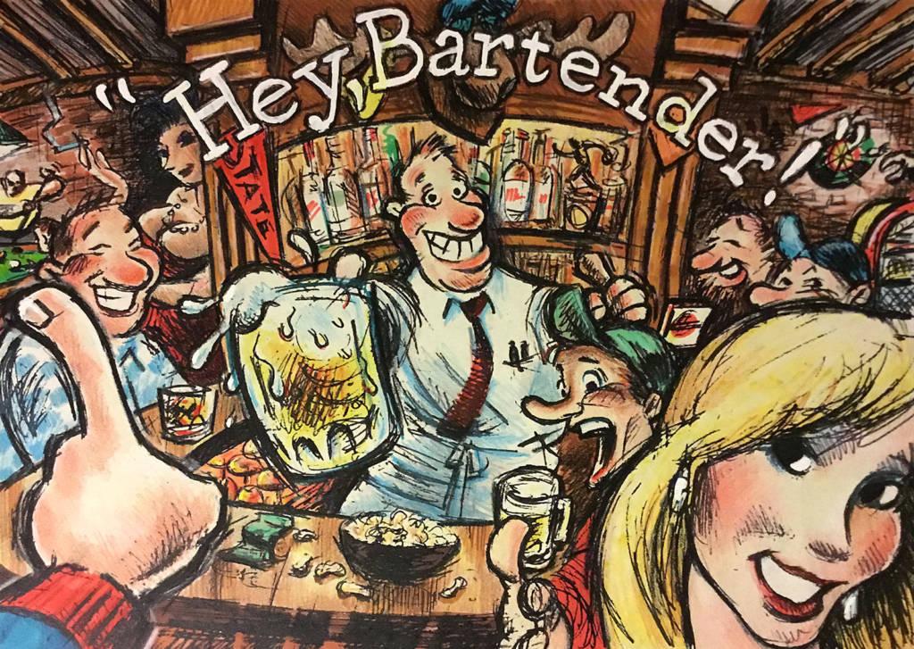 Jack's Hey, Bartender! concept