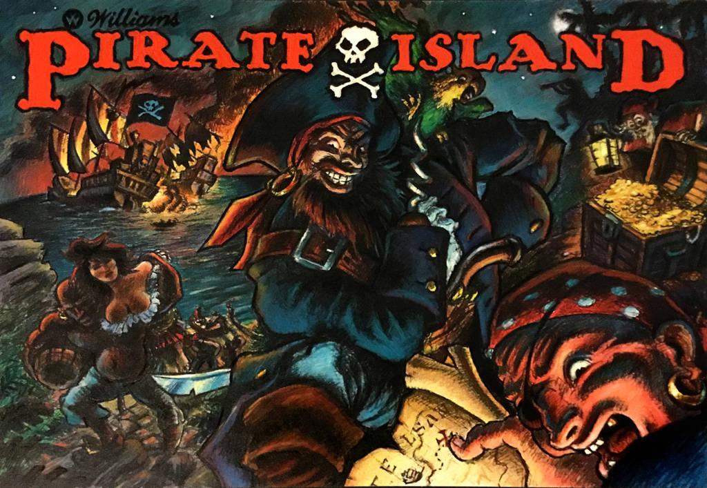 Jack's Pirate Island concept
