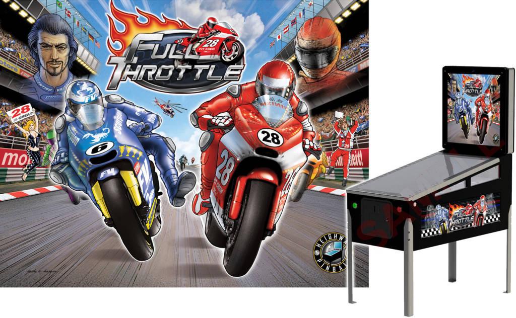 The Full Throttle art package