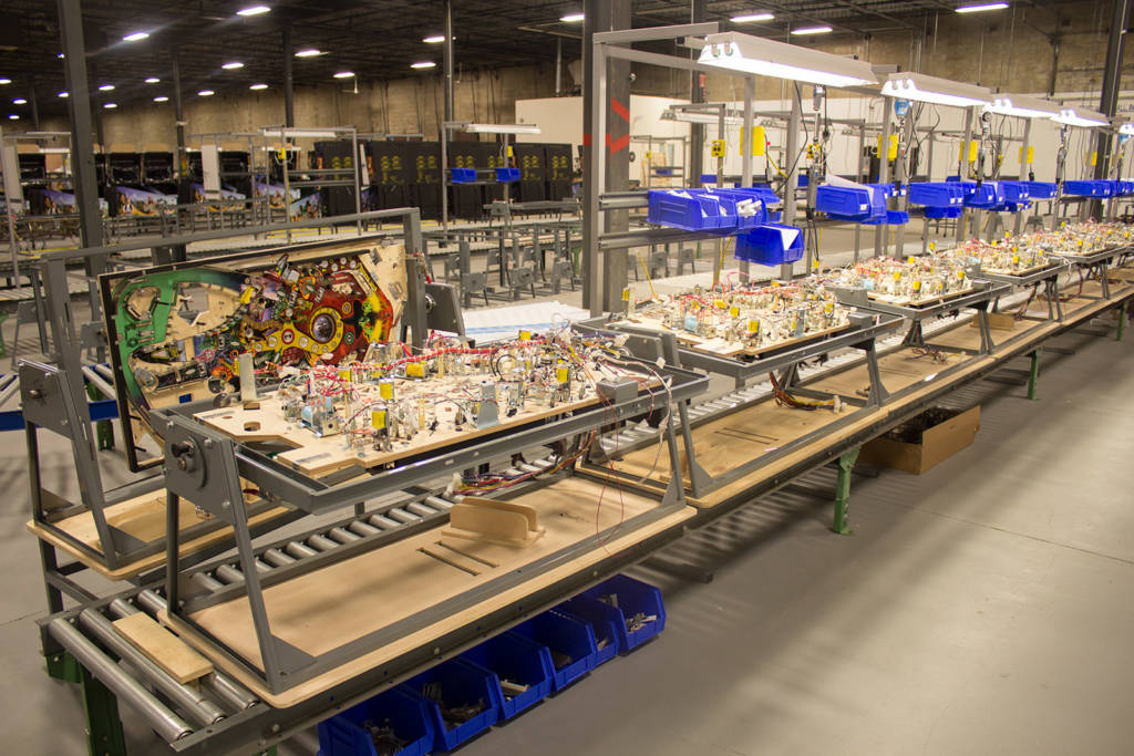 The manufacturing operation at Lakewood