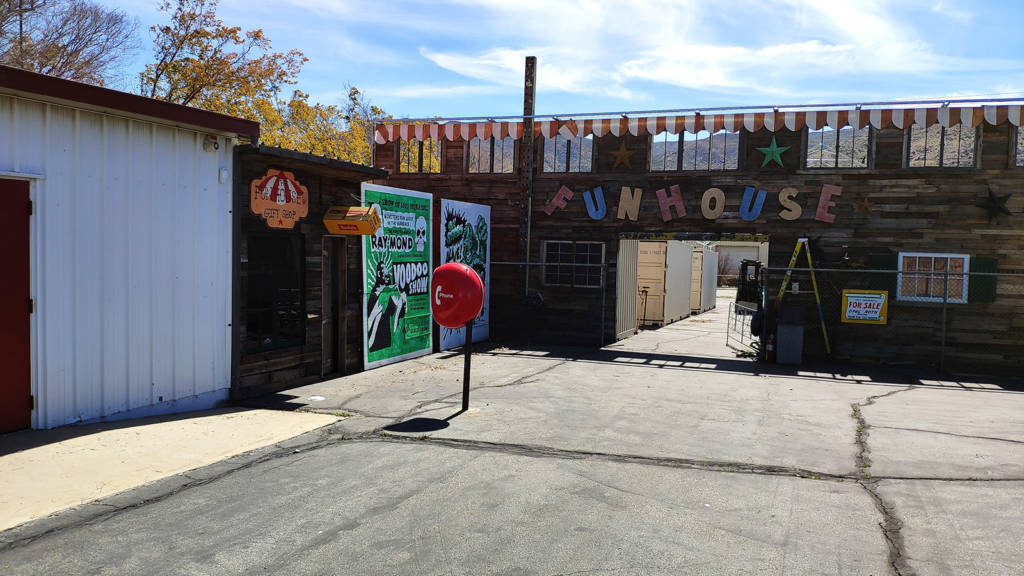 The Funhouse on the 18-acre site