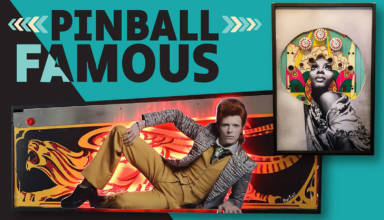 The Pinball Famous exhibition