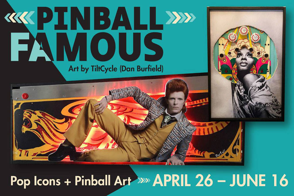 Dan Burfield's latest show is called Pinball Famous