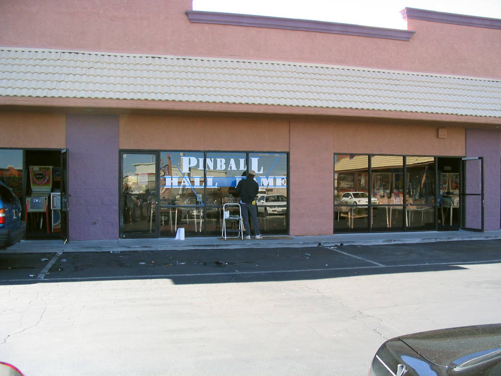 The original home of the Pinball Hall of Fame